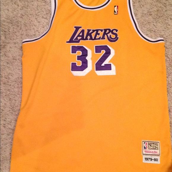 san francisco b372a 76370 Magic Johnson Lakers jersey